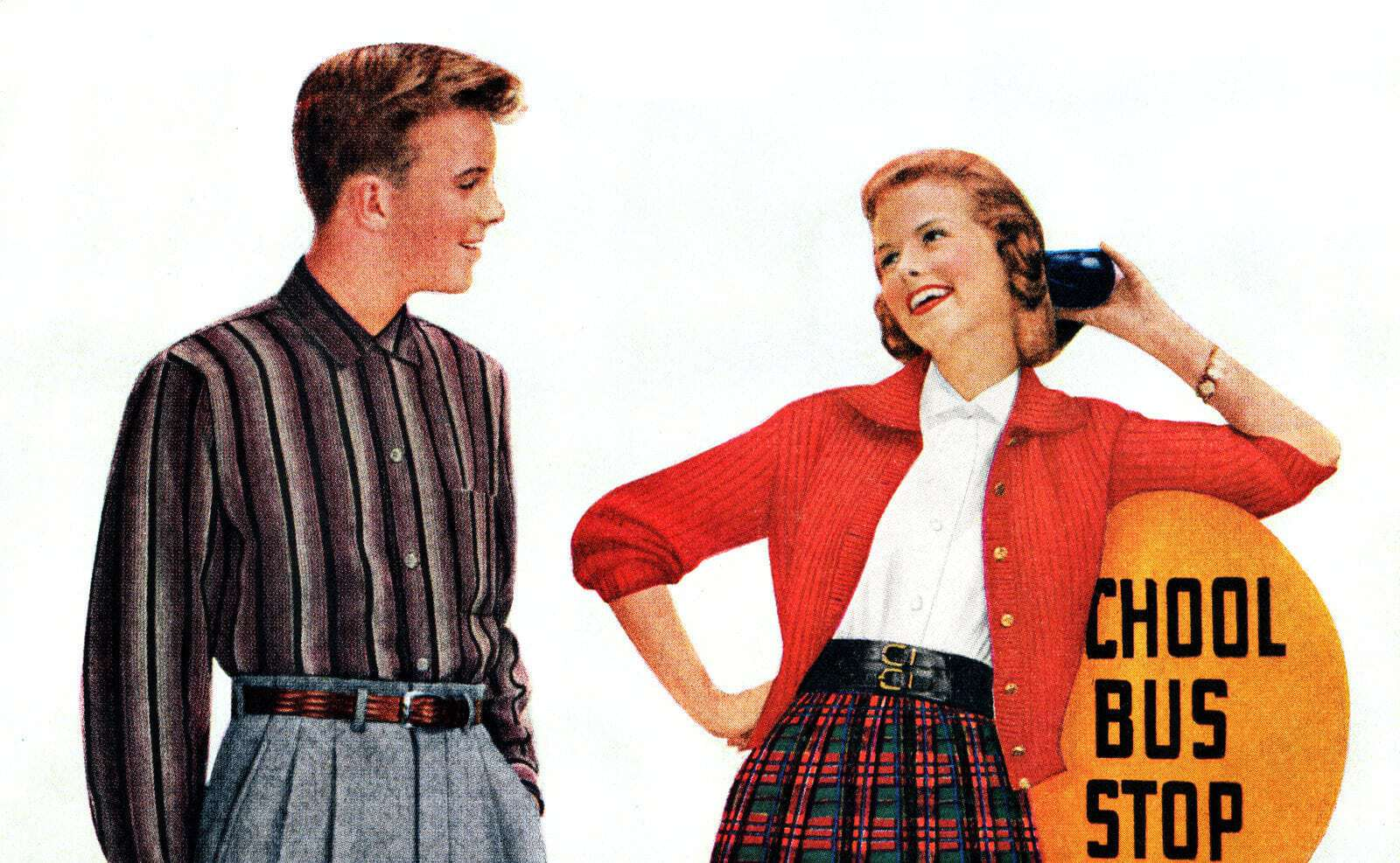 047cfc0e50 How to flirt and chase men 'til they catch you: Seventeen magazine's top  tips for teen girls in the 1950s - Click Americana