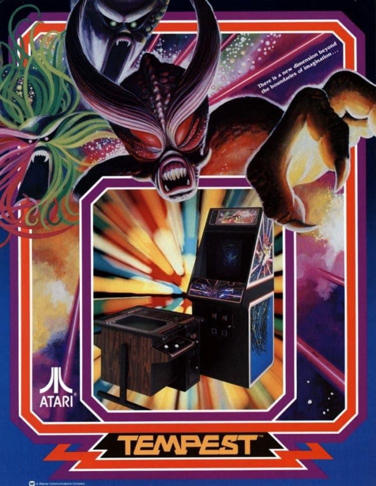 Tempest arcade games 1981