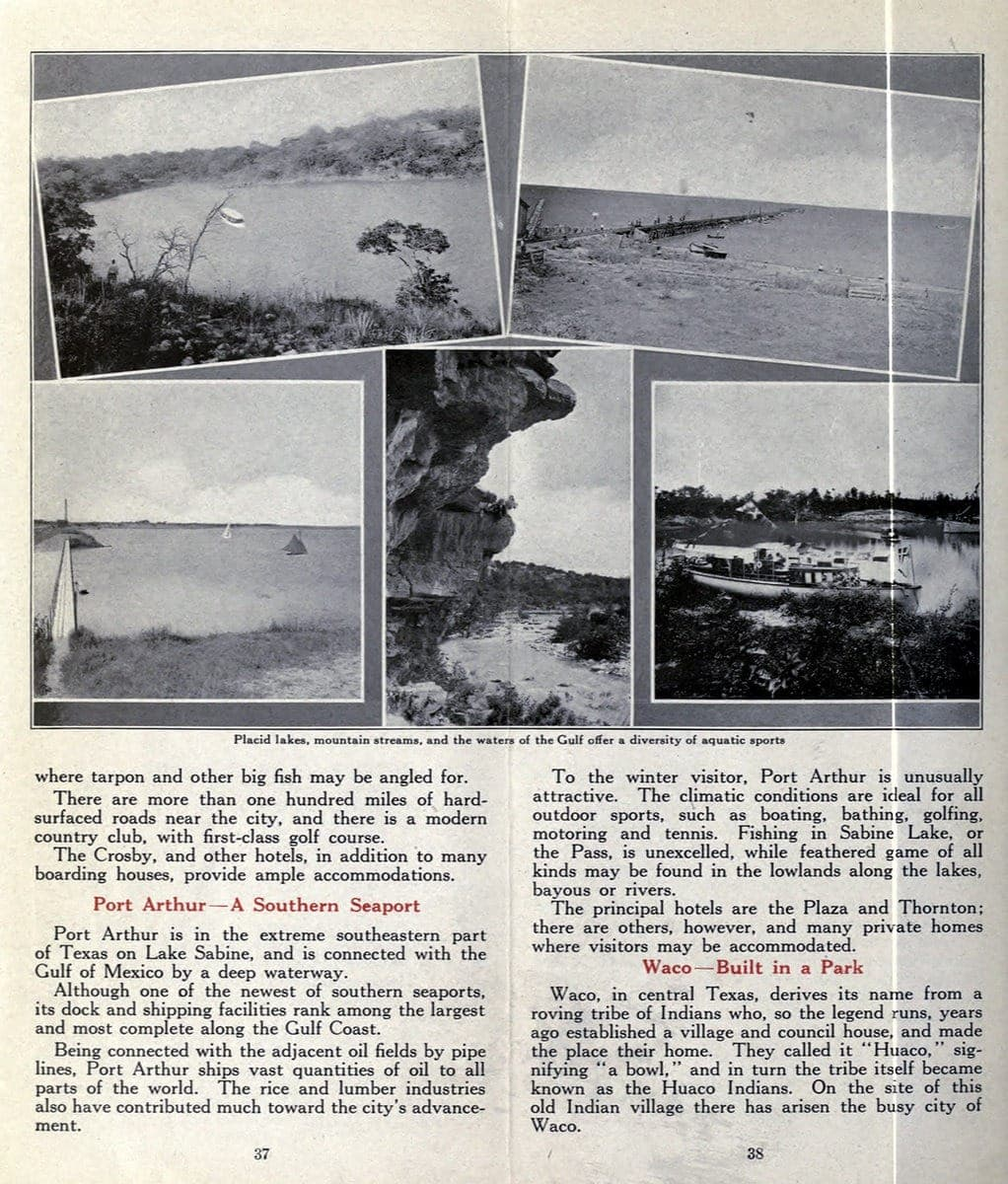 Port Arthur & Waco
