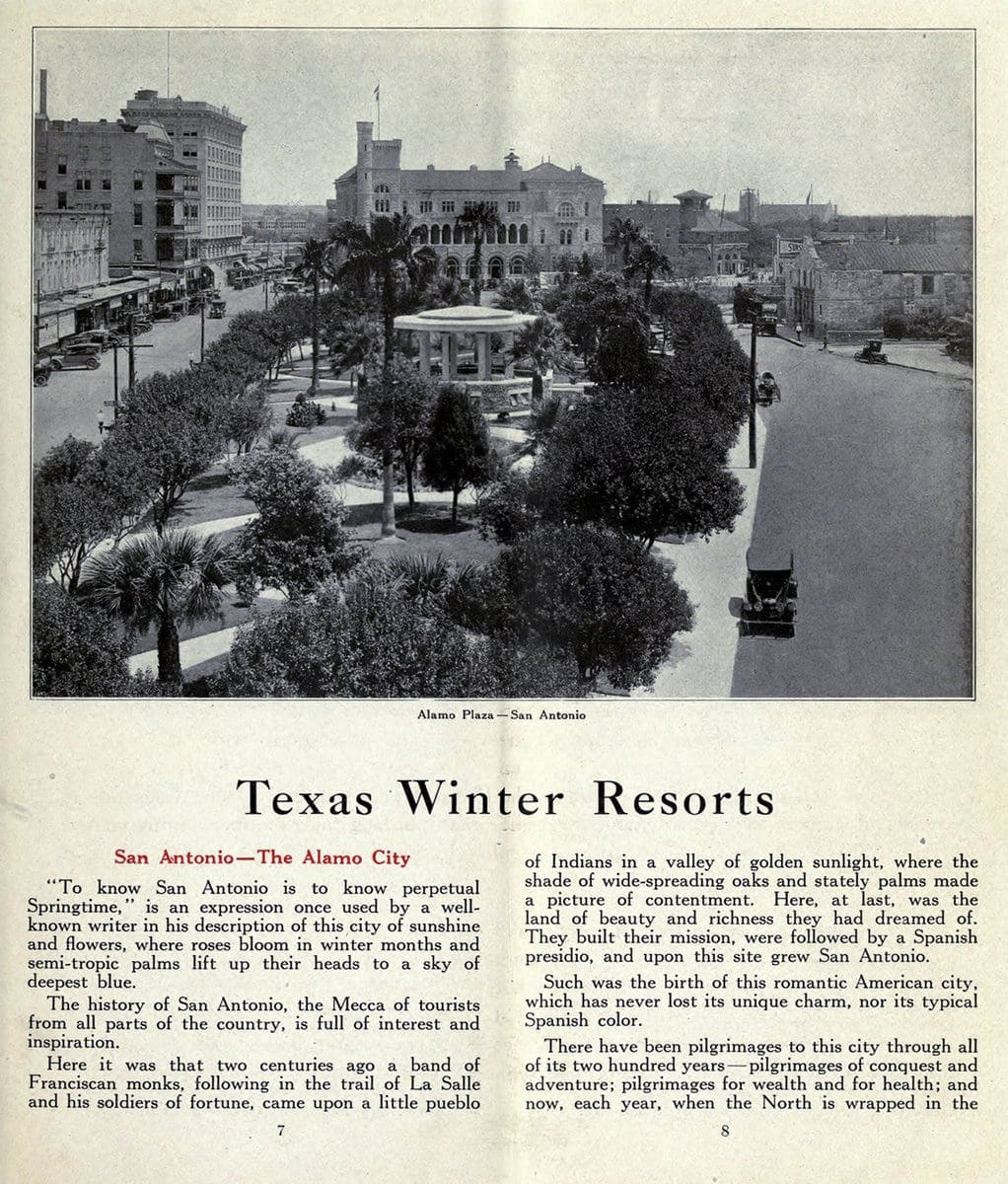 Texas winter resorts in 1919