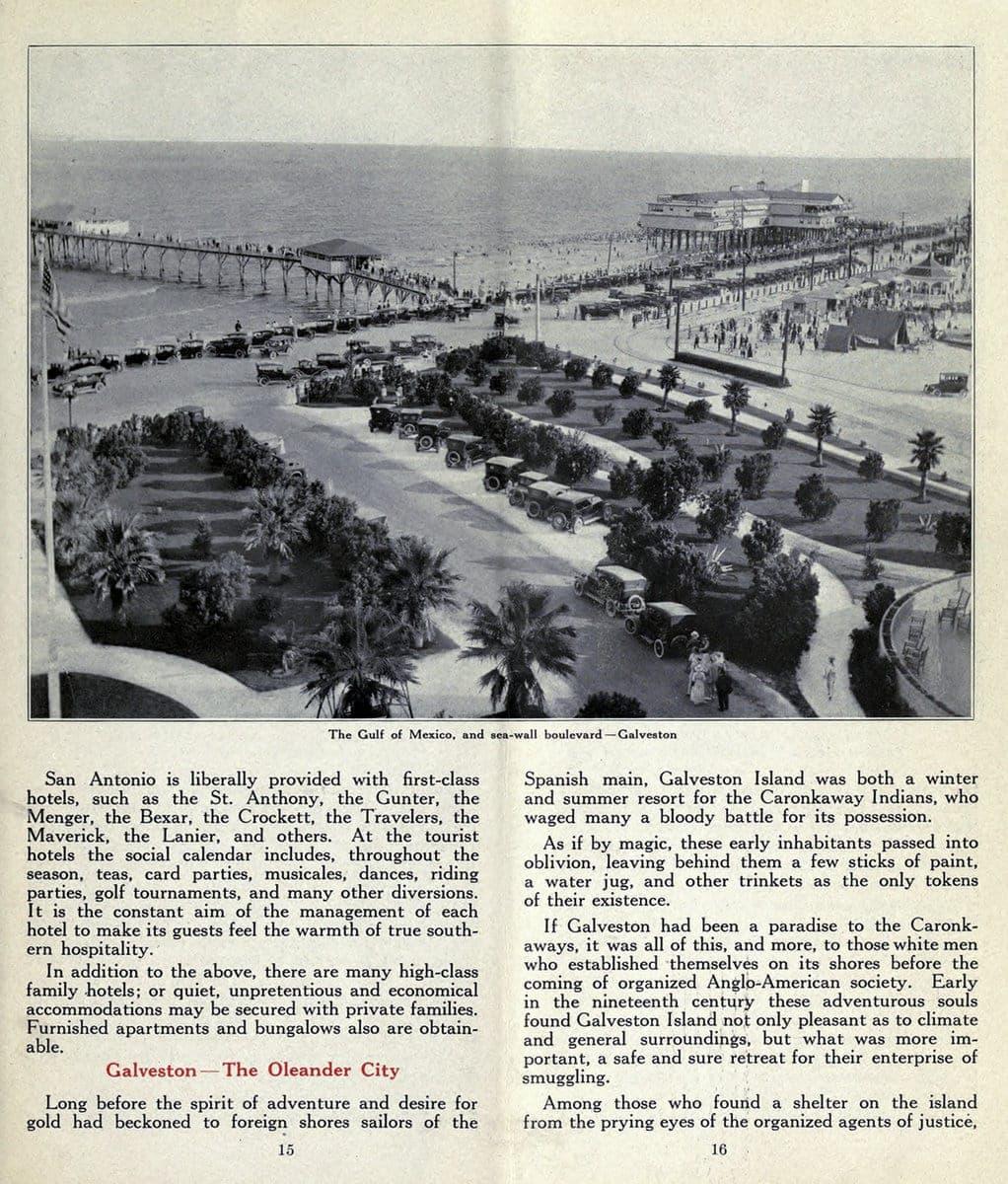 Galveston - The Oleander City