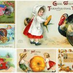 Thanksgiving greetings 14 cute antique postcards people sent back in the early 1900s