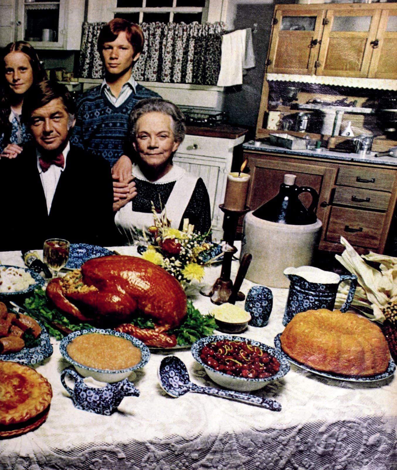 Thanksgiving with The Waltons - 1973 (1)