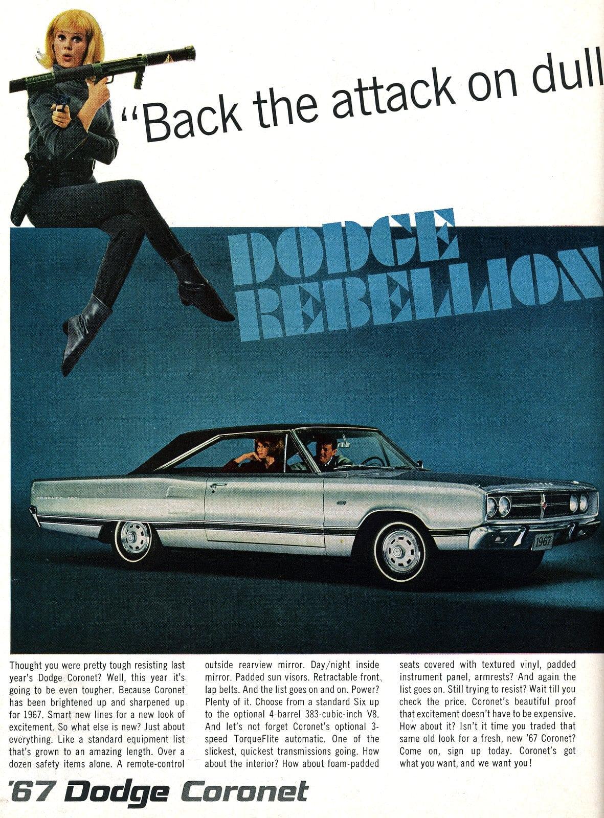 The 1967 Dodge Coronet