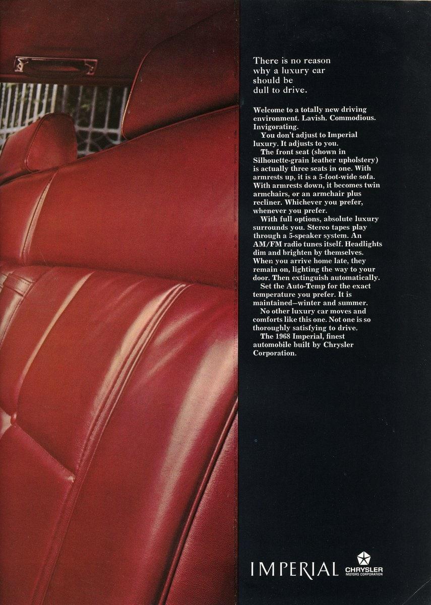 The 1968 Chrysler Imperial (1)