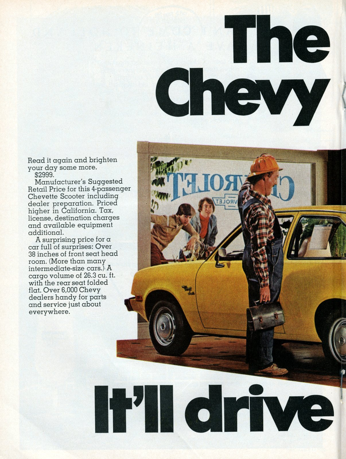 The 2999 Chevy Chevette (1977)