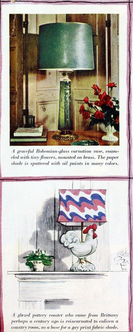 The '40s career girl's apartment - vintage decor (1)