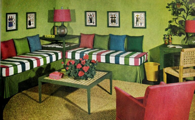 Here S How To Decorate Your Apartment 1948