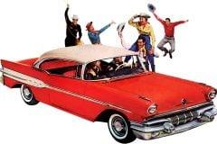 1957 Pontiac car