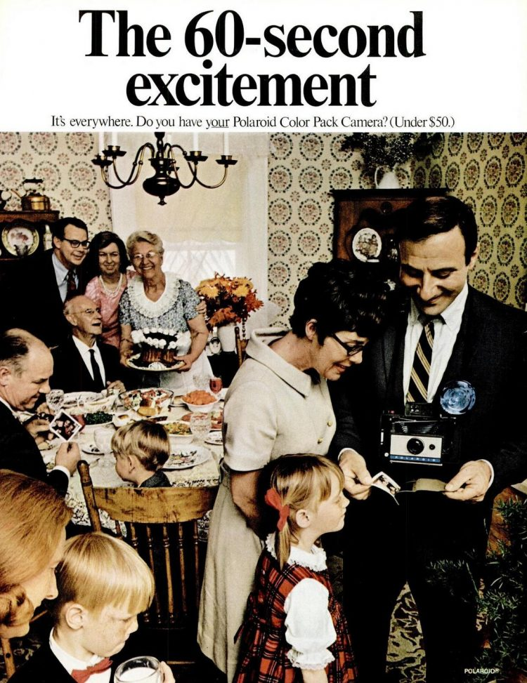 The 60-second excitement - Waiting for a photo - 1968