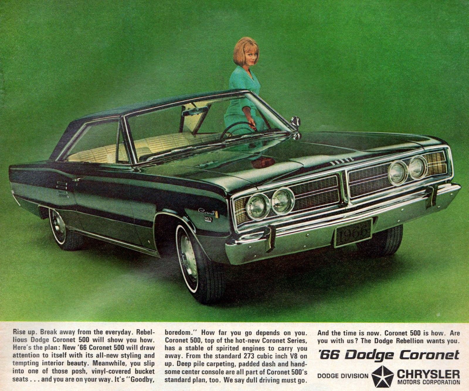 The '66 Dodge Coronet classic car