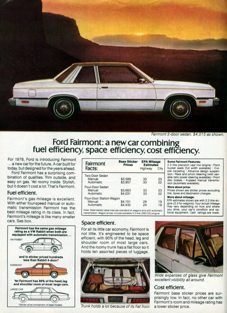 The '78 Ford Fairmont (1)