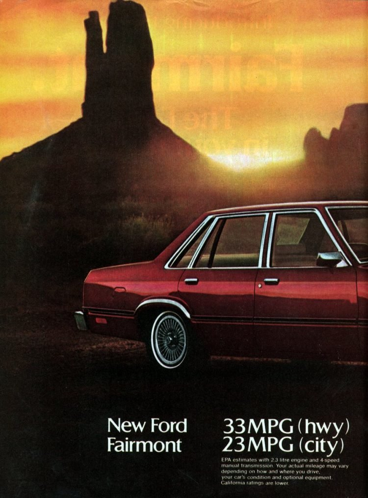 The '78 Ford Fairmont (4)