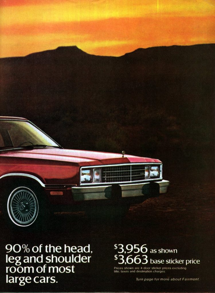 The '78 Ford Fairmont (5)