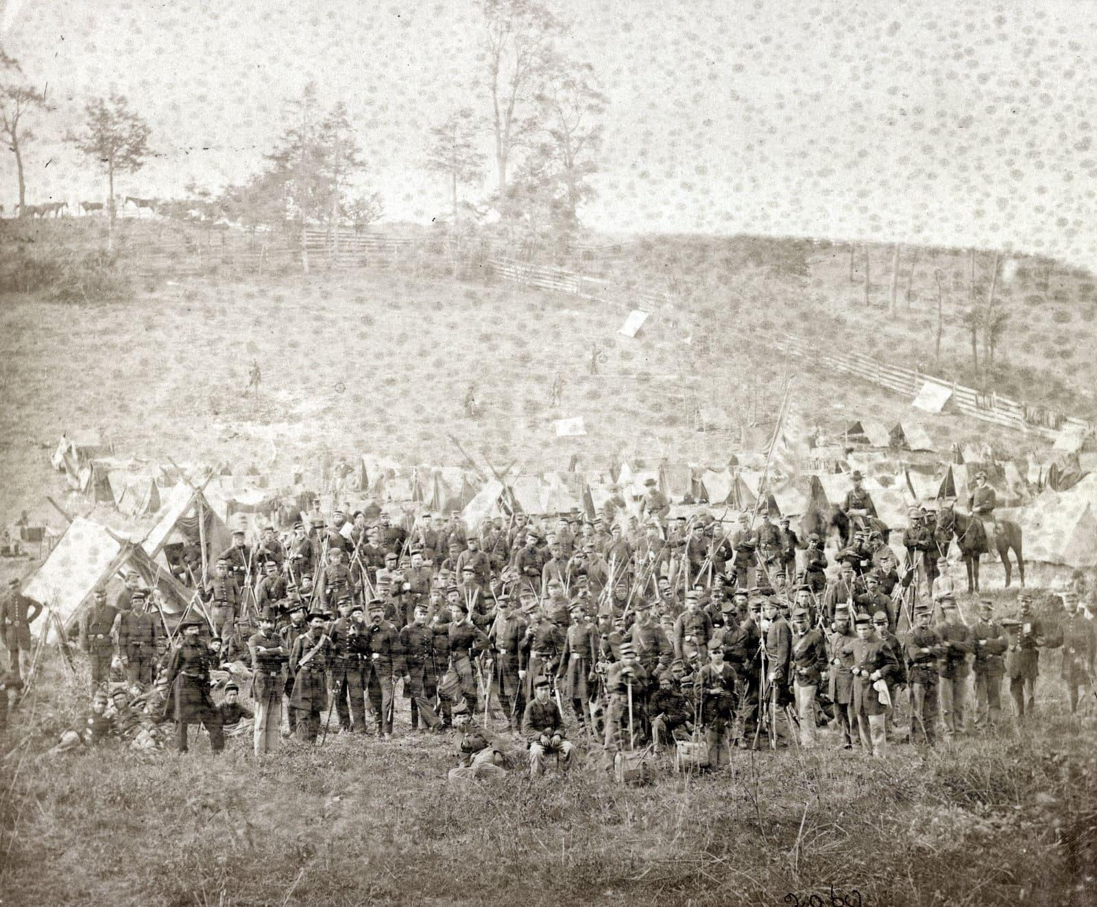 The 93d New York Infantry, Antietam (1862)