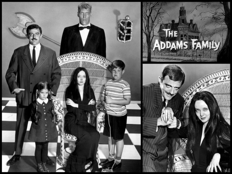 The Addams Family opening 1964-1966