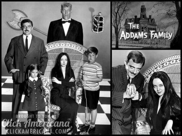 The Addams Family opening credits & theme (1964-1966)