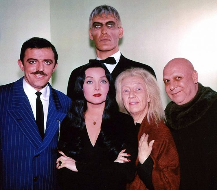 The Addams family classic TV show cast