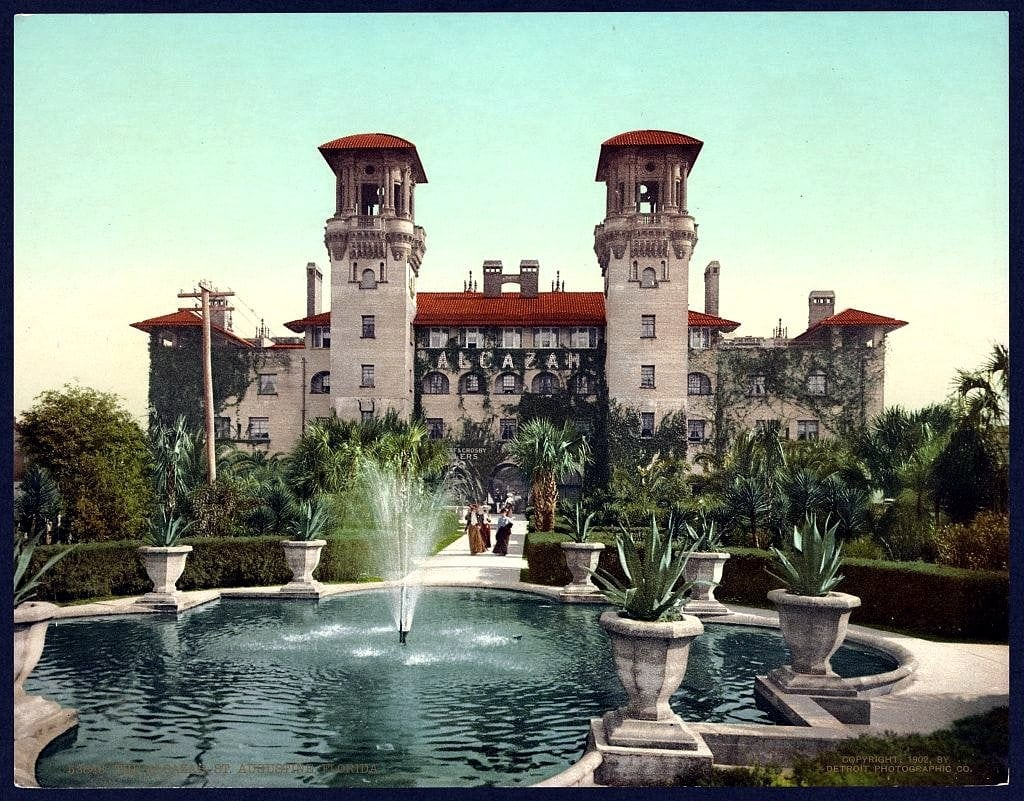 The Alcazar, St. Augustine, Florida Hotel