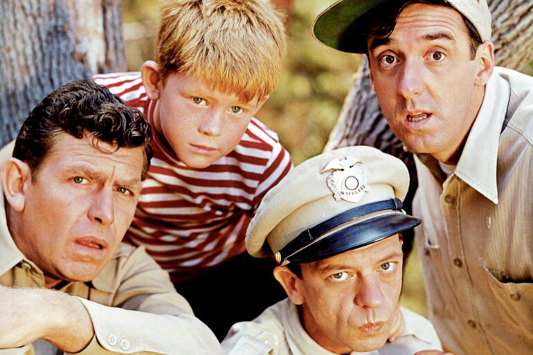 The Andy Griffith Show cast 1961