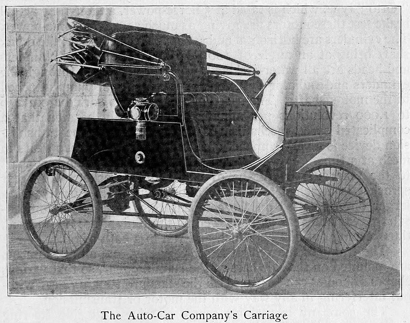 The Auto-Car Company's carriage (1900)