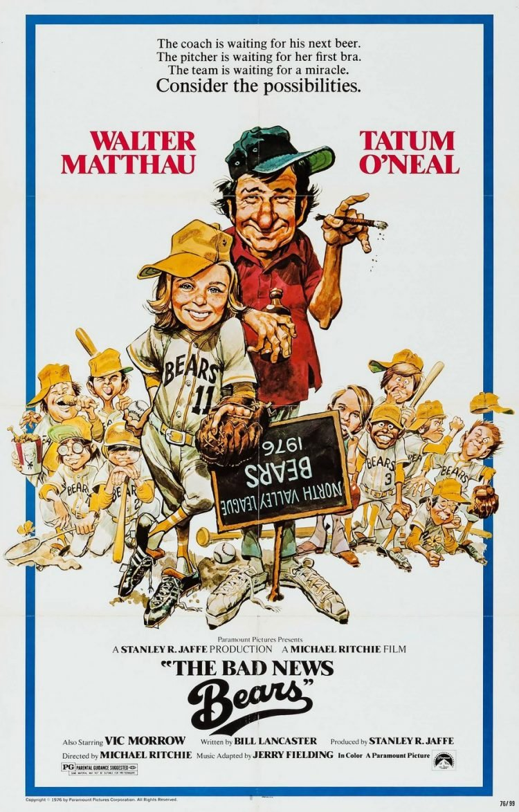 The Bad News Bears movie poster 1976
