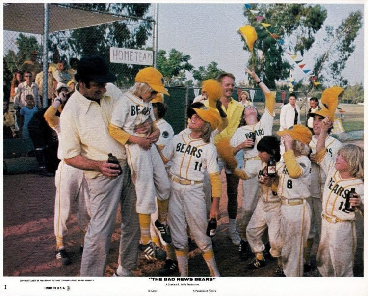 The Bad News Bears movie scene 1976 (1)