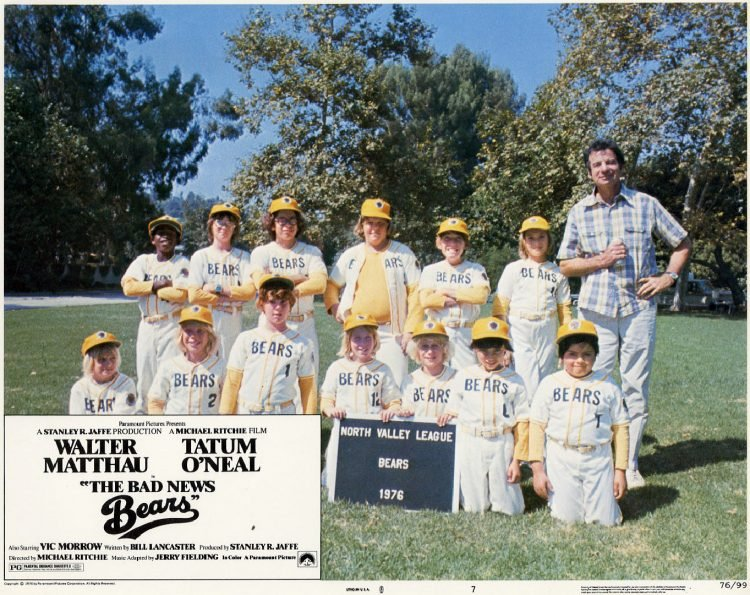 The Bad News Bears movie scene 1976 (2)