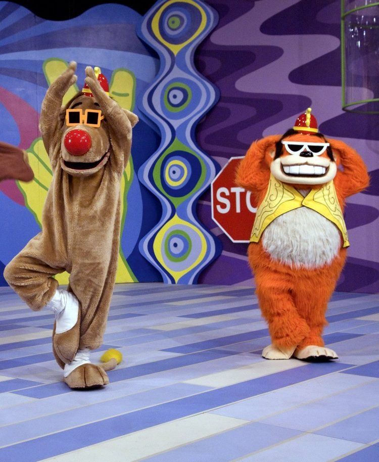 The Banana Splits Adventure Hour TV show characters