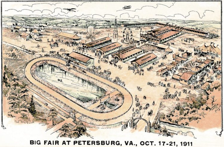 The Big Fair at Petersburg, Virginia Wild West shows and acres of farm machinery on display (1911)