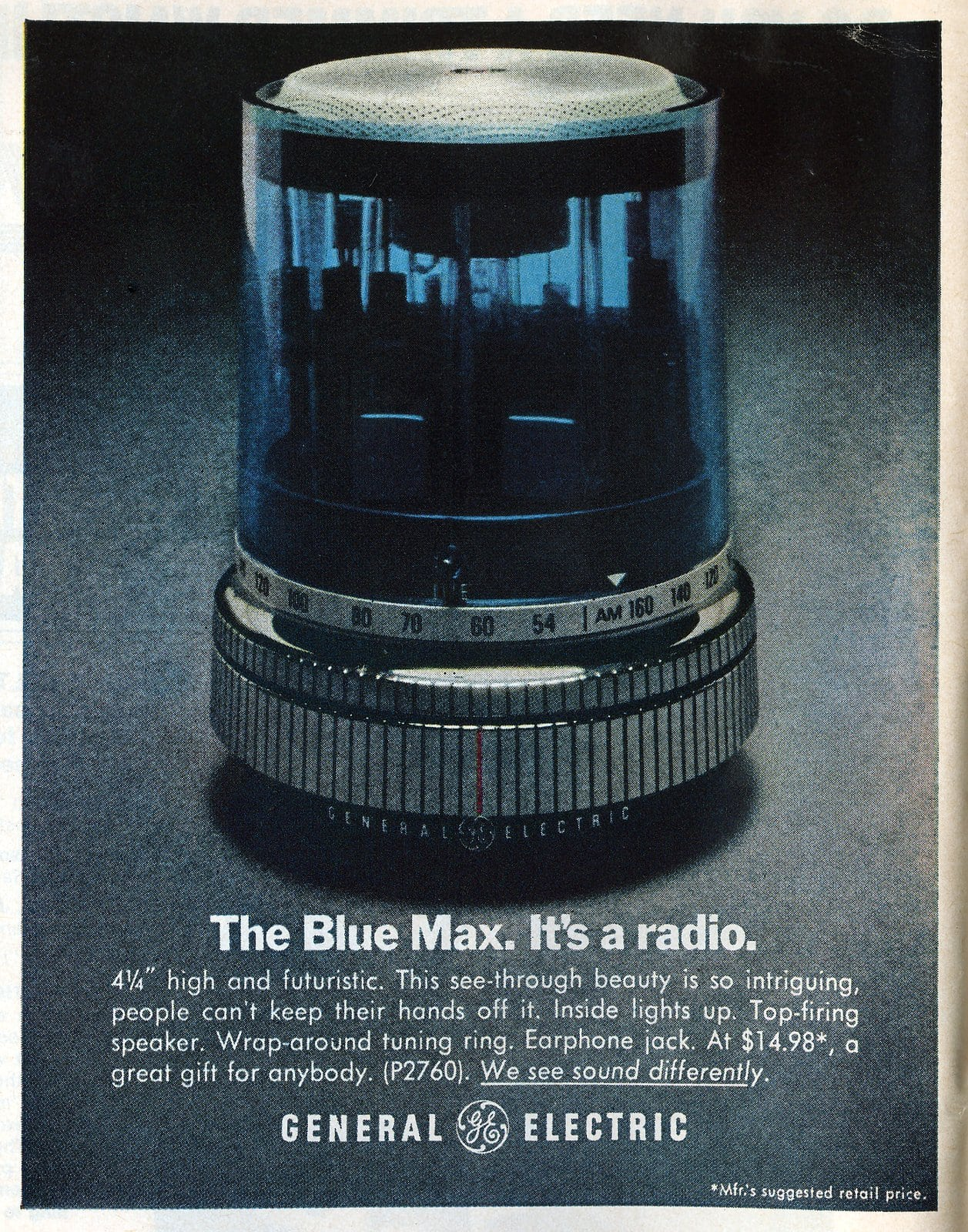 The Blue Max. It's a radio. (1970)