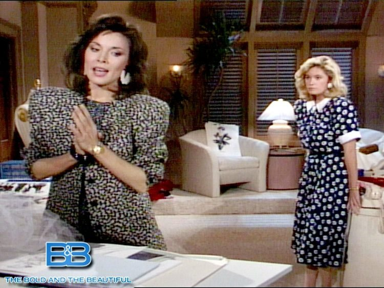 The Bold and the Beautiful vintage 1980s soap opera scenes (1)