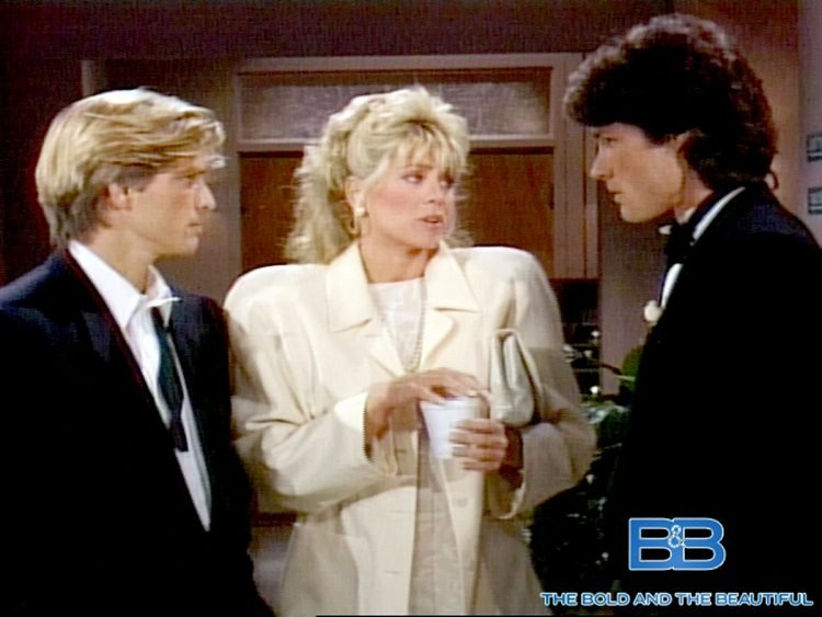 The Bold and the Beautiful vintage 1980s soap opera scenes (2)