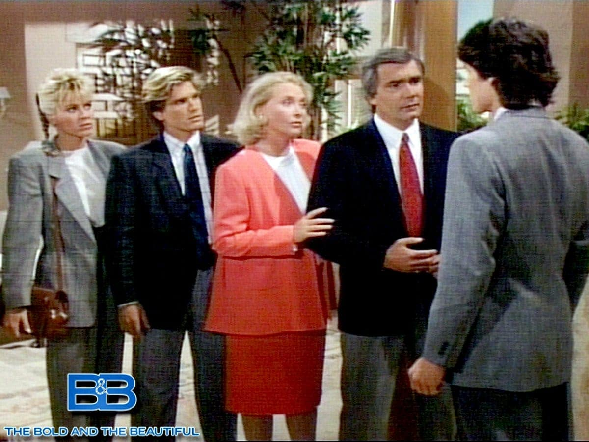 The Bold and the Beautiful vintage 1980s soap opera scenes (3)