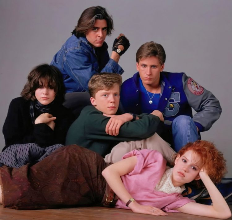 The Breakfast Club 80s movie