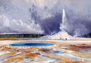 The Castle Geyser, Upper Geyser Basin