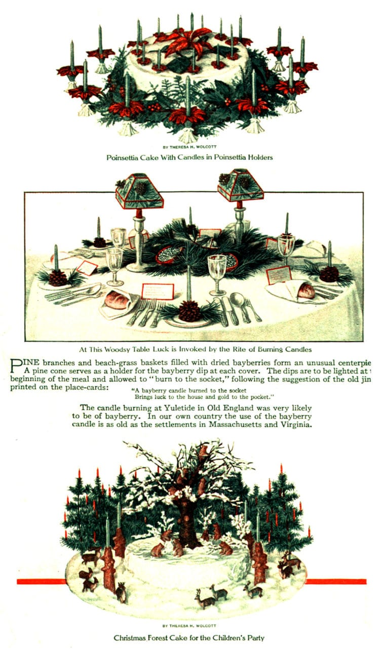 The Christmas table - food and festivity from 1914 (2)