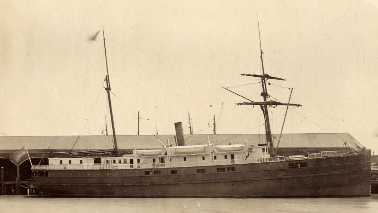 The City of Chester steamship sank just inside the Golden Gate (1888)