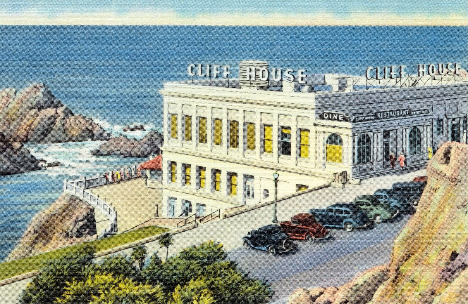 The Cliff House (1930s-1940s)