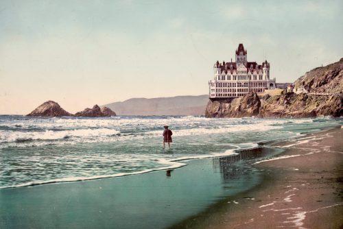 The Cliff House and Ocean Beach (1899)