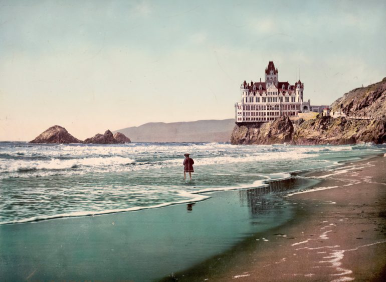 The Cliff House and Ocean Beach (1899)