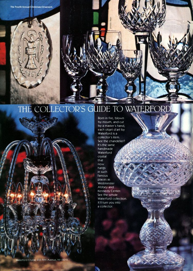 The Collector's Guide to Waterford crystal - 1981