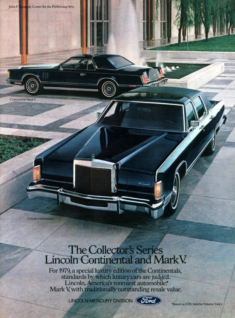 The Collector's Series - Lincoln Continental and Mark V 1979 (1)