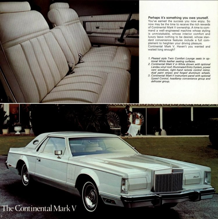The Collector's Series - Lincoln Continental and Mark V 1979 (3)
