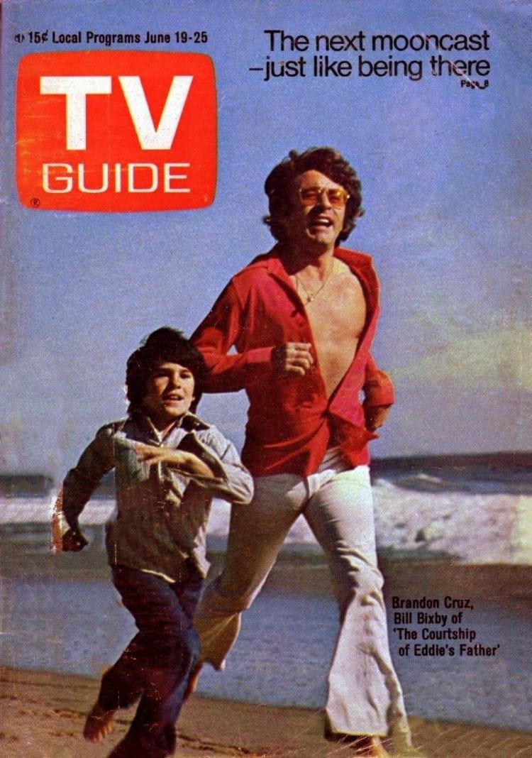 Brandon Cruz & Bill Bixby on the cover of TV Guide magazine