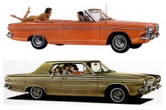 The Dependables from Dodge 1963 Dodge Darts, wagons & other classic cars