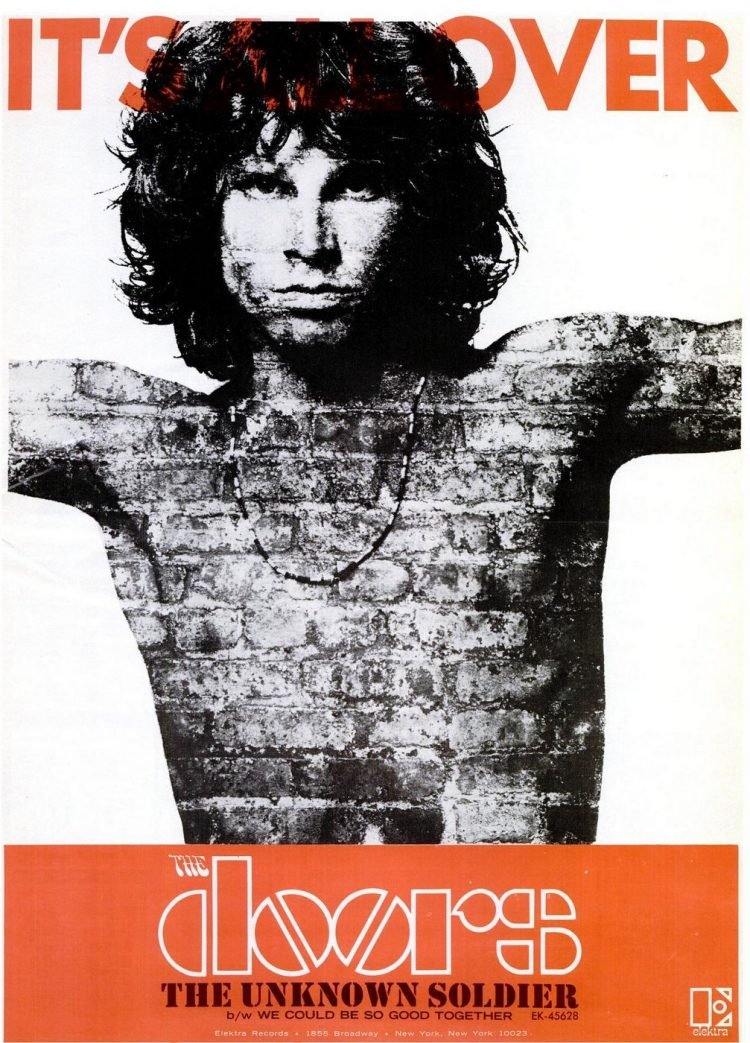 The Doors - Unknown Soldier single - Apr 13, 1968