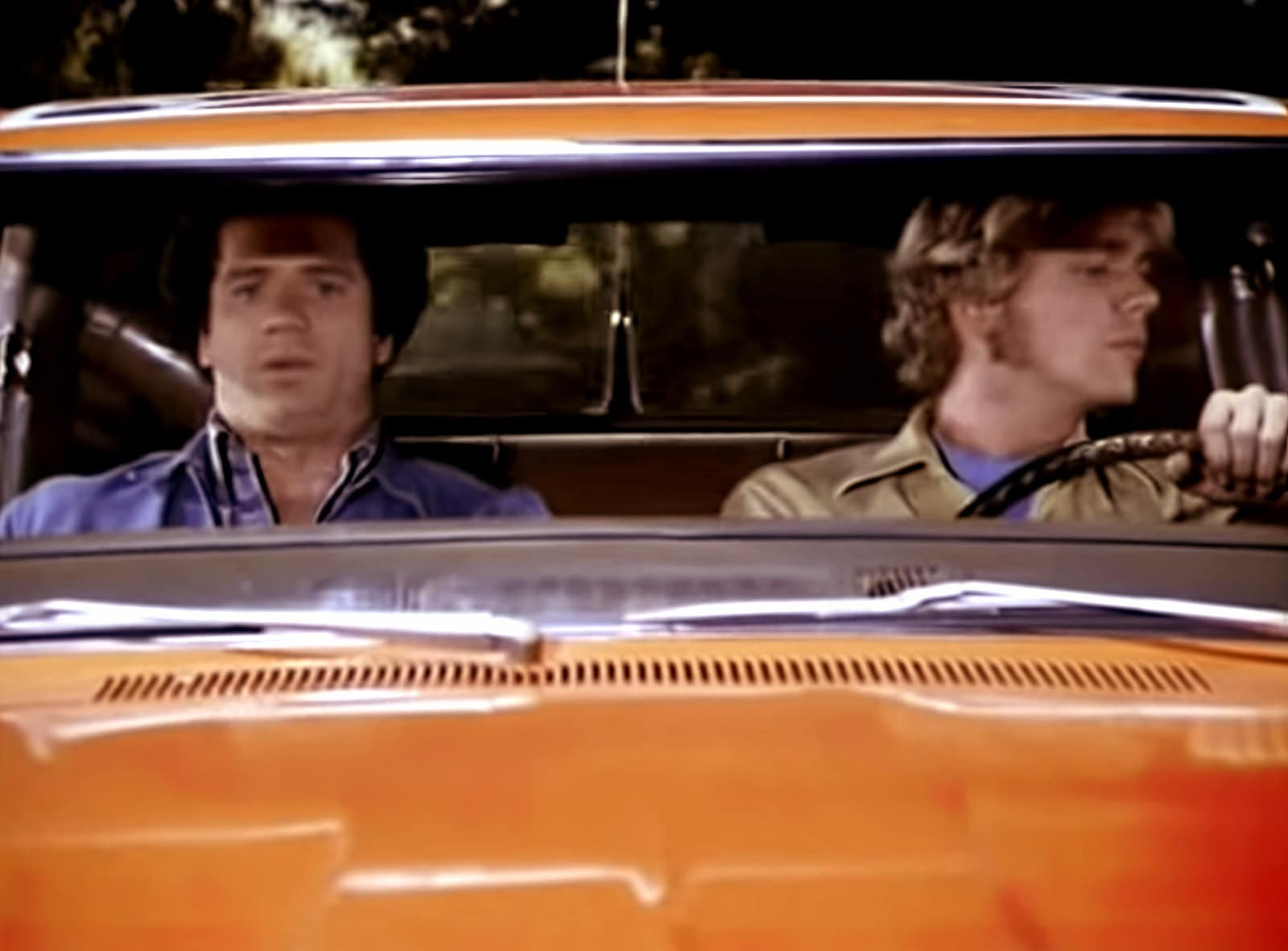 The Dukes of Hazzard TV series - In the car