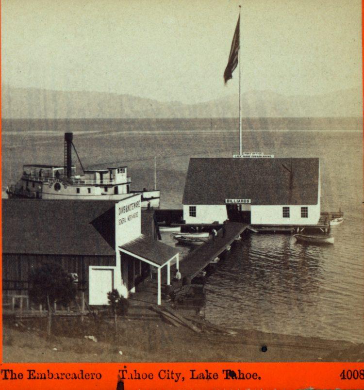The Embarcadero, Tahoe City, Lake Tahoe