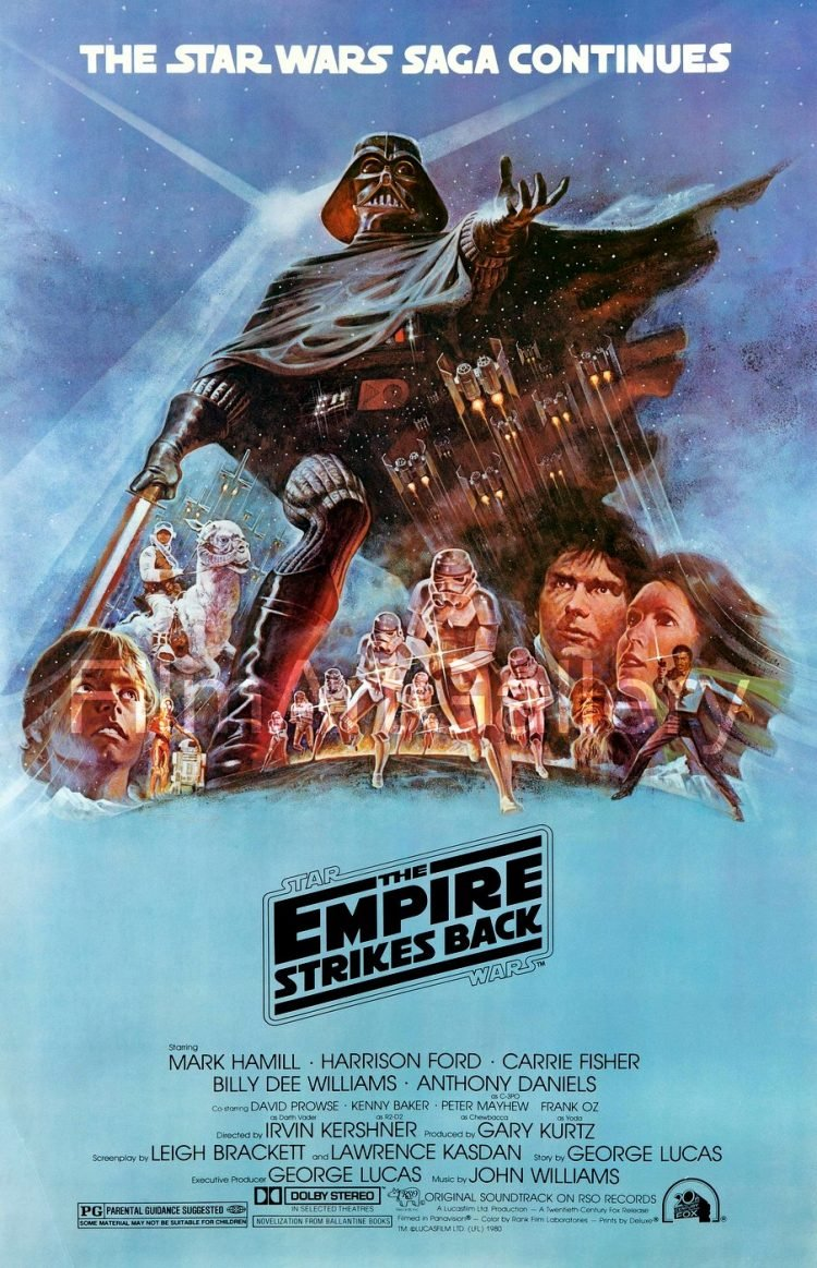 The Empire Strikes Back - Star Wars movie poster (1)